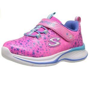 Skechers Girls' Jumpin' Jams-Cosmic Cutie Sneakers